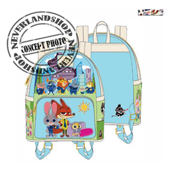 Loungefly Backpack Chibi - Zootopia