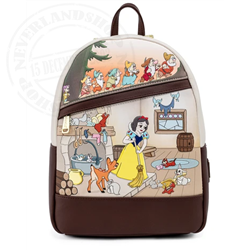 Loungefly Mini Backpack Scenes - Snow White & the 7 Dwarfs