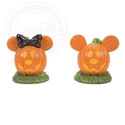 Pumpkintown Topiaires - Mickey & Minnie
