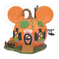 Pumpkintown House - Mickey