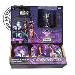 Domez CollectConnectDisplay - Villains
