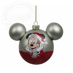 9301 Glass Ears Ball - Minnie