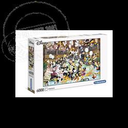 Puzzel 6000 Stuks Gala - Mickey & Co