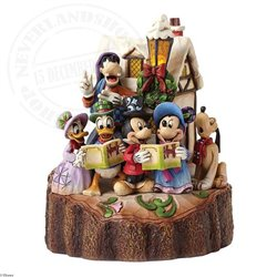 Disney Traditions Carved By Caroling - Mickey & Friends
