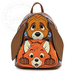 Loungefly Mini Backpack Cosplay - Todd & Copper