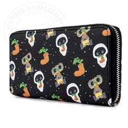 Loungefly Zip Wallet Earth Day - Walle & Eve