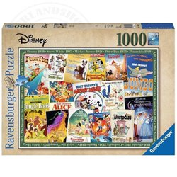 Puzzel 1000 Stuks Vintage Movie Poster - Disney