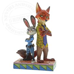 Disney Traditions Partners in Crime-Fitghting - Judy & Nick