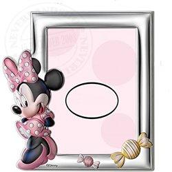 Photo Frame Rectangle Coloured- Minnie