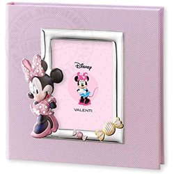 Photo Album with Rectangle Photo Frame Coloured - Minnie