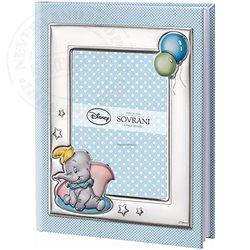 Photo Album with Photo Frame Blue - Dumbo