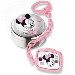 Pacifier Brooch & Tooth Box Gift Set - Minnie