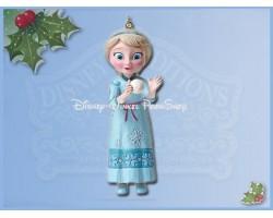 Jim Shore - Dangle Ornament - Elsa