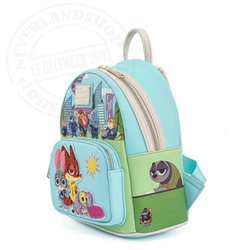Loungefly Backpack Chibi - Zootopia