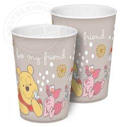 2Dlg Bekers - Pooh & Piglet