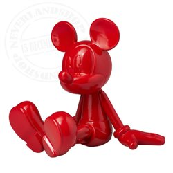 Leblon Delienne Sitting Glossy Red - Mickey