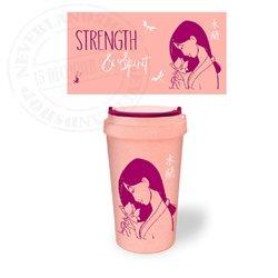 Travel Mug Strength & Spirit - Mulan