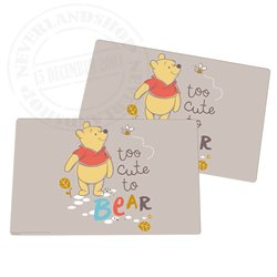2Dlg Placemats - Pooh