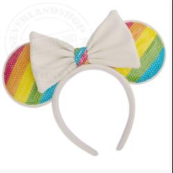 Loungefly Headband Rainbow - Minnie