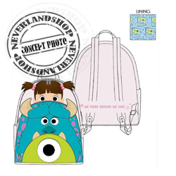 Loungefly Mini Backpack Cosplay - Monsters Inc