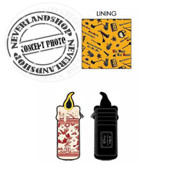 Loungefly Cardholder Binx Candle - Hocus Pocus