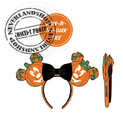 Loungefly Headband  Mick-O-Lantarn - Mickey & Minnie