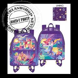 Loungefly Mini Backpack Castle - Little Mermaid