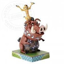 Disney Traditions Carefree Cohorts - Timon and Pumba