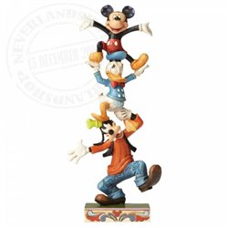 Disney Traditions Teetering Tower - Mickey & Friends