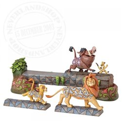 Disney Traditions Carefree Camaraderie - The Lion King