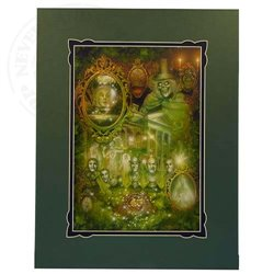 Deluxe Print by Harris - Haunted Mansion