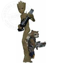 9220  Hallmark Ornament - Groot & Rocket