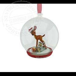 9409 Dome Ornament - Bambi & Thumper