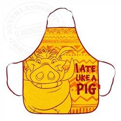 Apron I Ate Like a Pig - Pumbaa