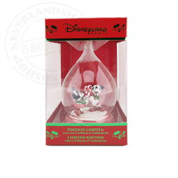 3D Figuur in Dome CandyCane LE - Mickey & Minnie