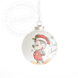 1st Christmas as Daddy Ornament - Mickey