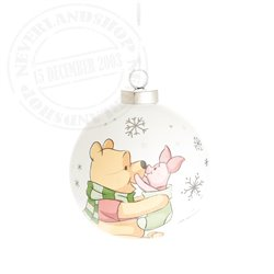1st Christmas Ornament Little One - Pooh & Piglet