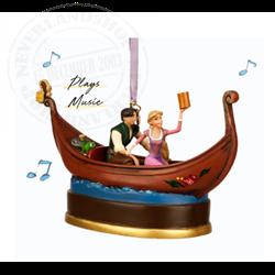 Sketchbook Ornament - Rapunzel, Pascal & Flynn