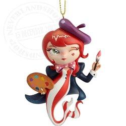Miss Mindy L'Artiste Mermaid Hanging Ornament