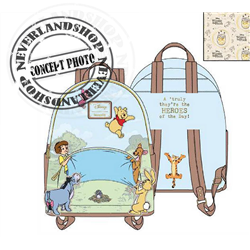 Loungefly Mini Backpack 95th Anniversary - Pooh & Co