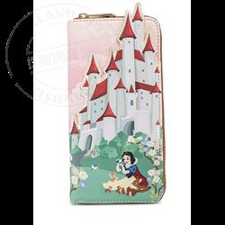 Loungefly Ziparound Wallet  Castle - Snow White