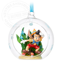 Sketchbook Ornament - Pinocchio