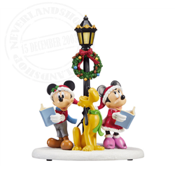 Table Topper Caroling - Mickey & Co