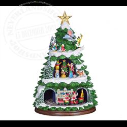 Animated Christmas Tree - Disney