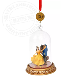 Sketchbook Ornament Dome - Beauty & the Beast