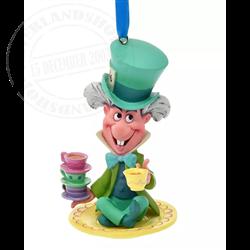Sketchbook Ornament - Mad Hatter