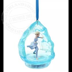 Sketchbook Ornament Singing - Elsa