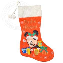 1ste Christmas Stocking - Mickey