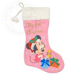 1st Christmas Stocking - Minnie