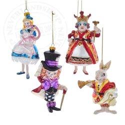 4dlg Glas Ornamenten - Alice in Wonderland